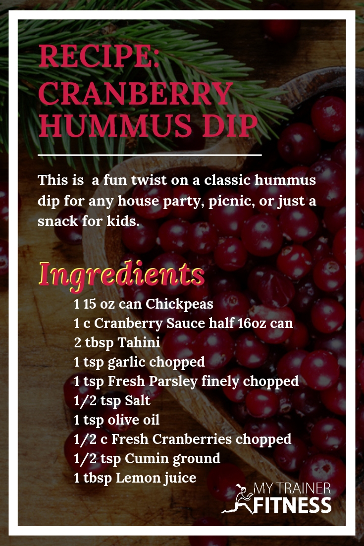 This is a delicious and fun holiday twist on the classic humus recipe!