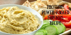 Mediterranean Hummus Recipe with White Beans