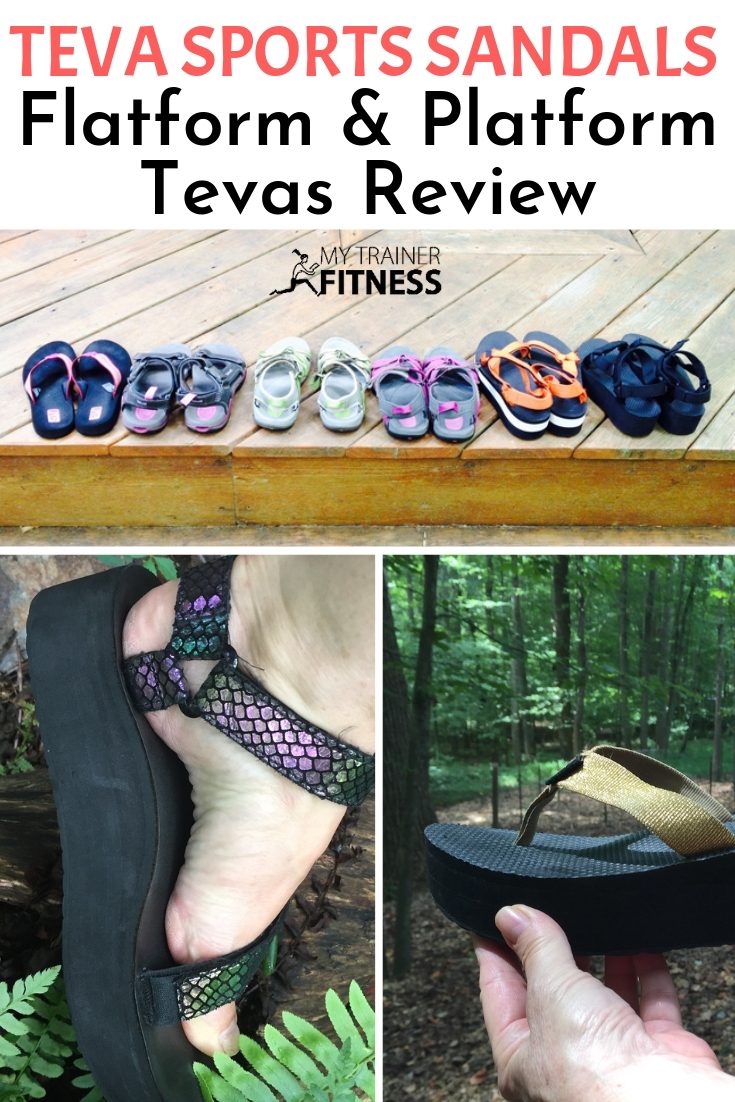 What are your favorite sandals for an active lifestyle? Mine are Tevas, hands down! And last year they came up with a style I've been looking for for years: Sports Tevas that are platforms!! #teva #sports #reviews #products