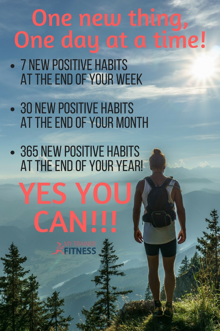 What's on your good habits list ? There's SO MUCH health and fitness information out there, that knowing where to start and what to do can be overwhelming! Do this... don't do that... Fitness overwhelm is not uncommon. Don't worry! Just start walking in the direction of your dreams. It's on the journey that the way...