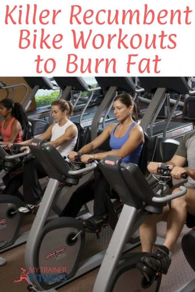 So when we created theMy Gym Trainergym workout books, we included recumbent bike workouts for this very reason, in addition to treadmill and elliptical workouts for the cardio portions. Many people have injuries and arthritis that limit them to non-weight bearing exercise, but for every injury, there's usually some kind of exercise that you can do to still get a really great workout to burn fat and tone your body.