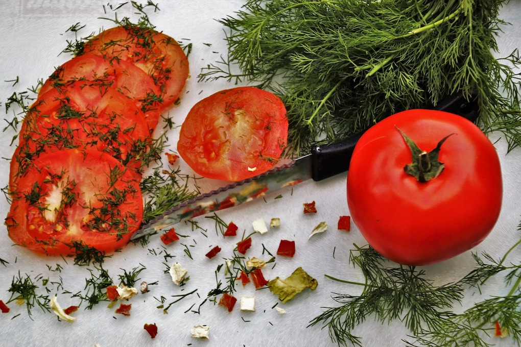 fresh tomatoes calories, sliced tomatoes,
